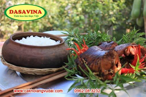 Cá kho Đại hoàng thương hiệu Dasavina không thể thiếu trong bữa cơm tết cổ truyền người Việt